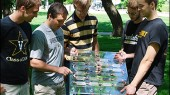 Engineering team demos spinach-powered solar cell at EPA competition