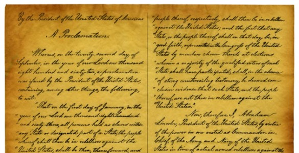 Discussion questions emancipation proclamation