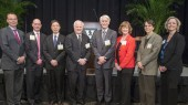 Event honors new holders of endowed chairs at VU