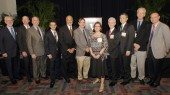Nine faculty honored at endowed chair celebration
