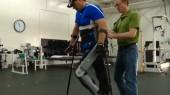 Wearable robot helps man walk again