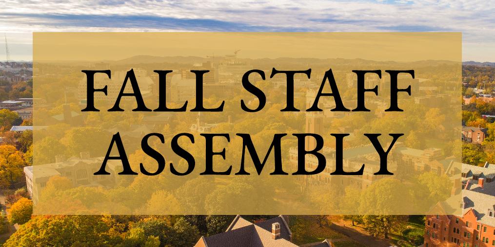 Register now for Nov. 2 Fall Staff Assembly