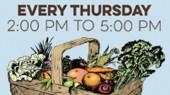 Farmers' Market open at VUMC each Thursday