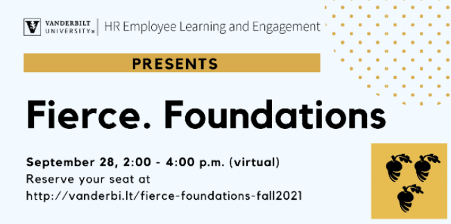 HR Employee Learning and Engagement: Fierce Foundations