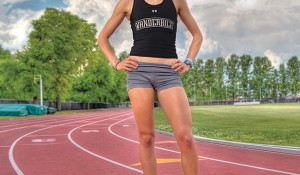 On Track — How Kristen Findley, BE'13, Found Her Stride
