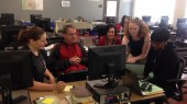 Engineering professor shares mapping technology with teachers