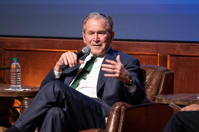President George W. Bush (Joe Howell/Vanderbilt)