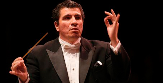 Giancarlo Guerrero, director of the Nashville Symphony