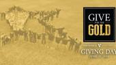 Go gold on social media for Giving Day