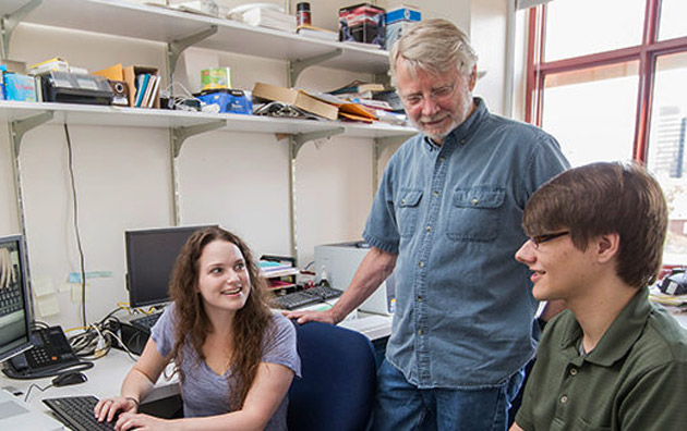 Gordon Logan and students. (Vanderbilt University)