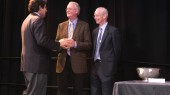 Gore, Bernard receive research awards at Faculty Assembly