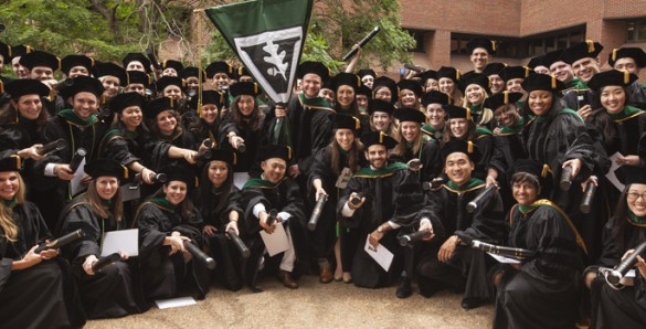 The School of Medicine Class of 2014 gathers for a group photo ...