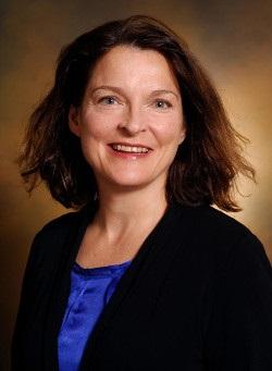 headshot of Vicki Greene in black blazer