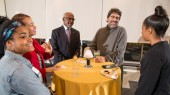 Equity, Diversity and Inclusion office hosts holiday gathering
