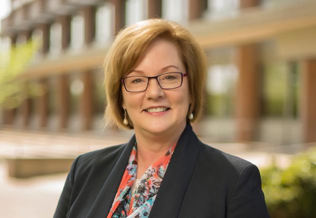 Kathryn Hofeldt, director of Global Support Services
