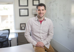 Dr. Timothy Hohman to accompany a Reporter story about his paper in Alzheimer's & Genetics describing a genomic component to the risk of Alzheimer's disease in African-Americans.(John Russell/Vanderbilt University)