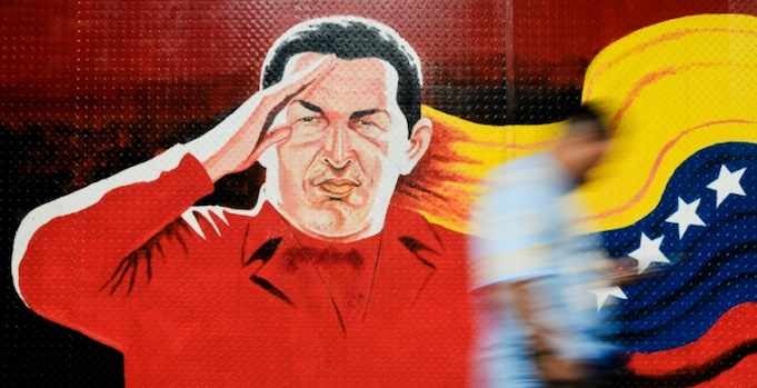 Hugo Chavez mural