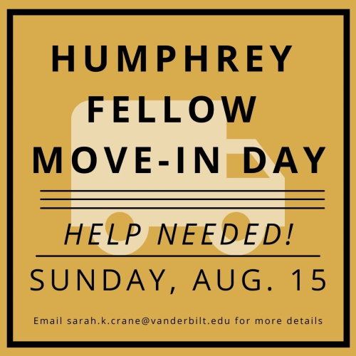 Humphrey Fellow Move-In Day