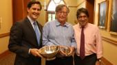 Wcislo receives 2015 Chancellor's Cup
