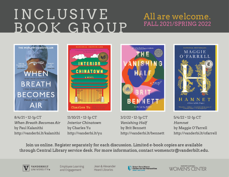 Inclusive Book Group 2021-21