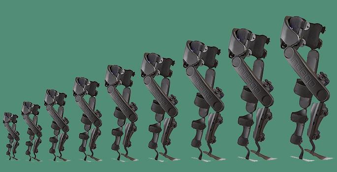 various exoskeletons