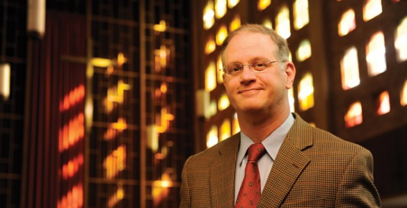 James Hudnut-Beumler will step down as dean of Vanderbilt Divinity School June 30. (John Russell/Vanderbilt)