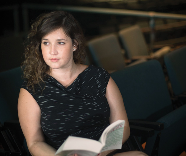 Jessie Hock, assistant professor of English