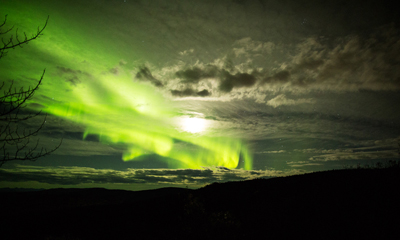 Jones recently visited Greenland to photograph the Northern Lights. (photo by Ian Jones)