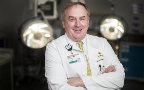 Vanderbilt's Ian Jones, M.D., executive medical director of Emergency Services, is also an avid photographer. (photo by Joe Howell)