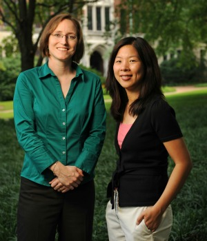 Elizabeth Zechmeister and Cindy Kam