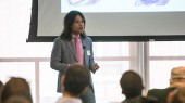 Graduate students compete in fourth annual Three Minute Thesis competition