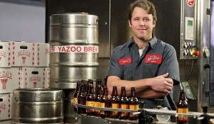 Linus Hall, EMBA'00, taps into the craft brewing market at Yazoo