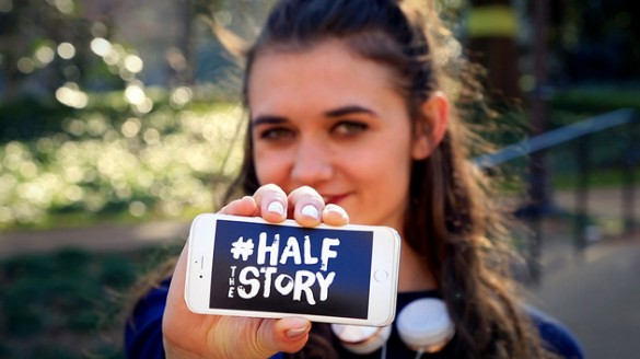 What's your story? Meet the student behind #halfthestory