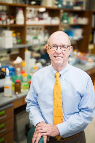 Lawrence Marnett, dean of basic sciences (Susan Urmy/Vanderbilt)