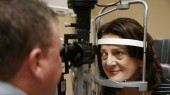 Cataract surgery helps clear clouds from patient's vision