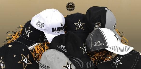 Vanderbilt is partnering with Nashville-area Lids stores to offer customizable Vanderbilt-logo hats.