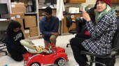 Biomedical engineering undergrads retrofit toy car for toddler's special needs