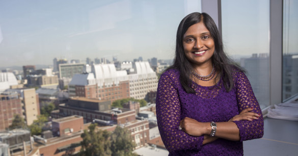 Meena Madhur, M.D., Ph.D., is one of 48 recipients of the National Institutes of Health Director's New Innovator Award. (photo by John Russell)