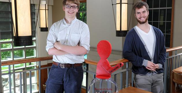 Will McCollum (left) and Mac Muir (Joe Howell/Vanderbilt)