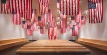Patriotism among themes of Ziegler's 'Flag Exchange' installation