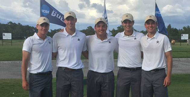 The Commodore men's golf team finished second at the 2015 NCAA Championship.