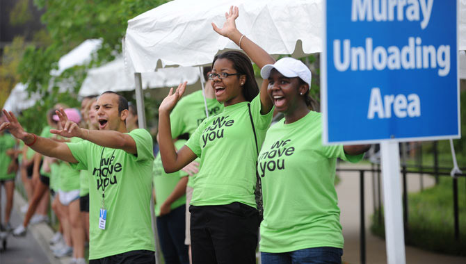 Welcome class of 2014! See what's so special about move-in day at The Commons!