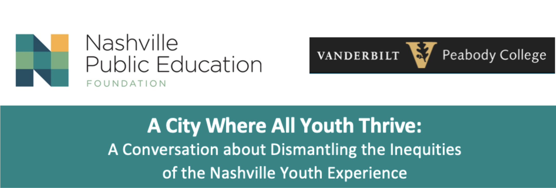 """""""A City Where All Youth Thrive"""" webinar featuring Maury Nation"""
