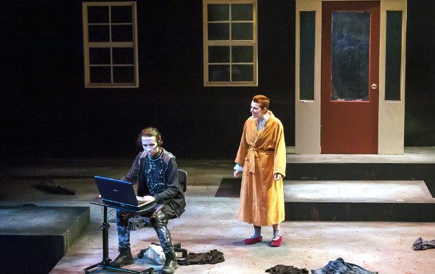 Josiah Pehrson and Rachel Platt are among the students in the dark comedy 'Neighborhood 3: Requisition of Doom'