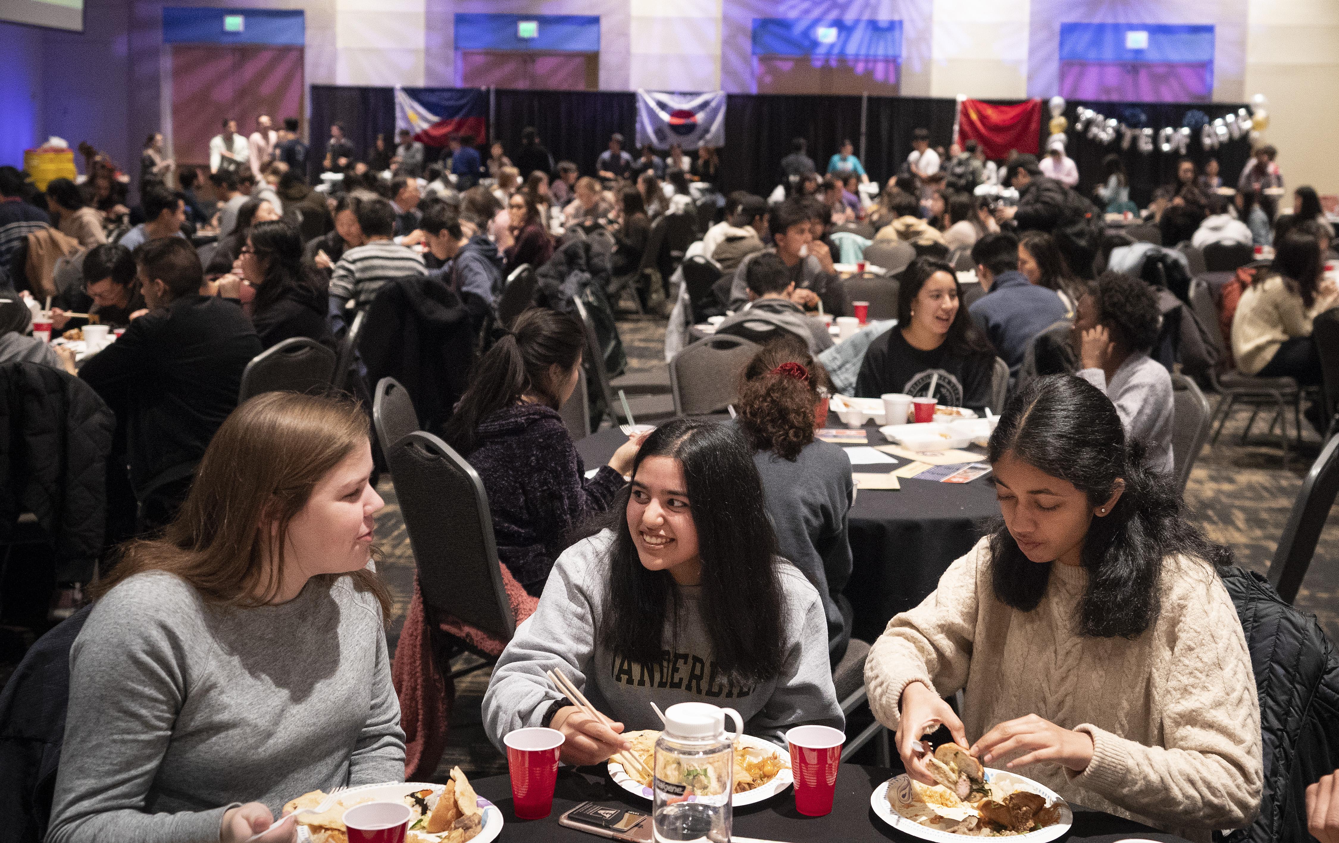 Taste of Asia 2019 in the Student Life Center Ballroom. (Joe Howell/Vanderbilt University)