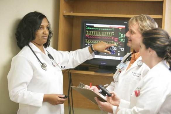 Students at Vanderbilt University School of Nursing. (Daniel Dubois/Vanderbilt)