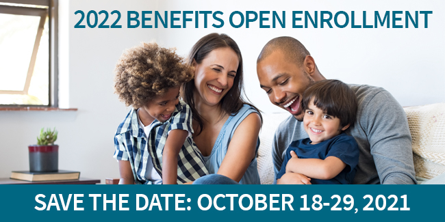 Open Enrollment 2022 Save the Date
