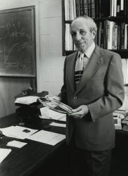 Oscar Touster molecular biology and biochemistry, emeritus,