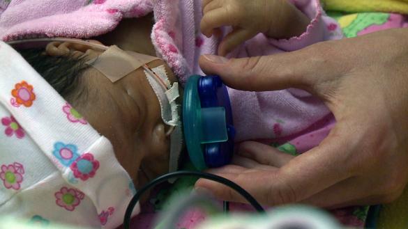 VUCast: Musical pacifier teaches preemies a life-saving skill
