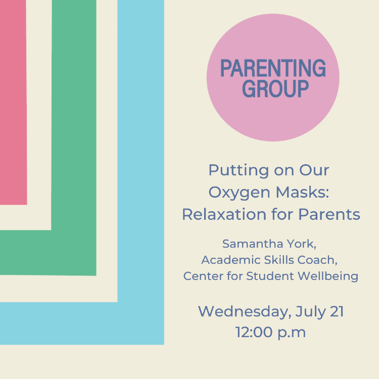 Parenting Group July 2021